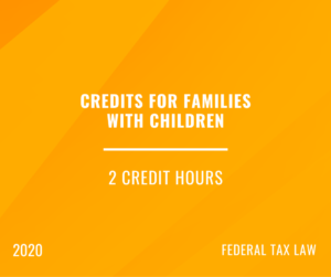 2020 | Credits for Families with Children