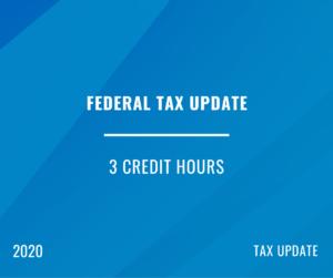2020 | Federal Tax Update