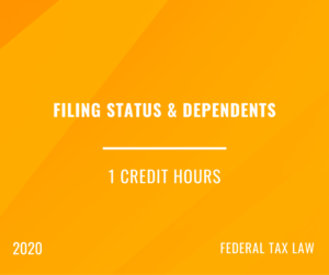 2020 | Filing Status and Dependents