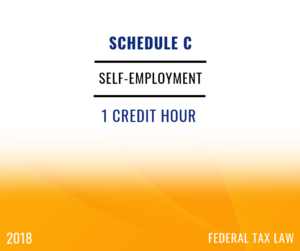 2018 Self-Employment / Small Business