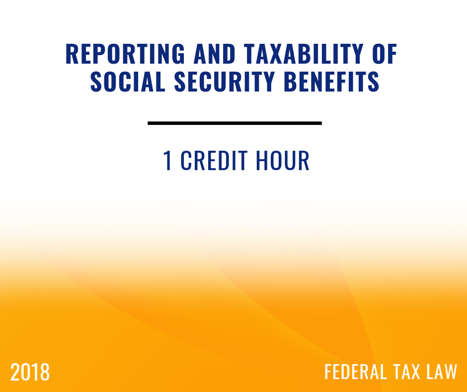 2018 Social Security & Retirement Benefits